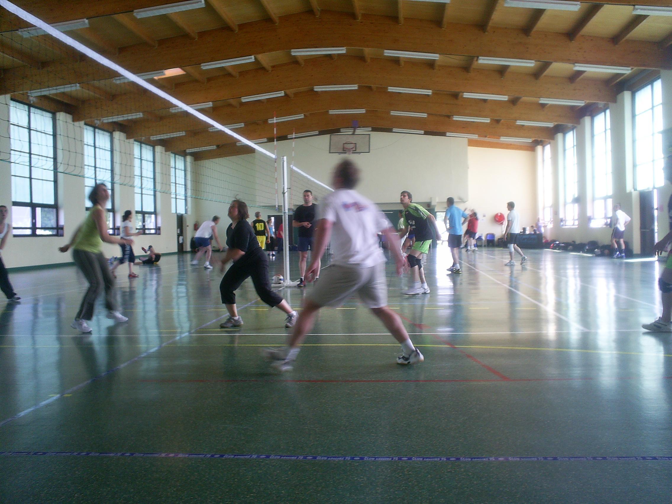 En pleine action lors du tournoi