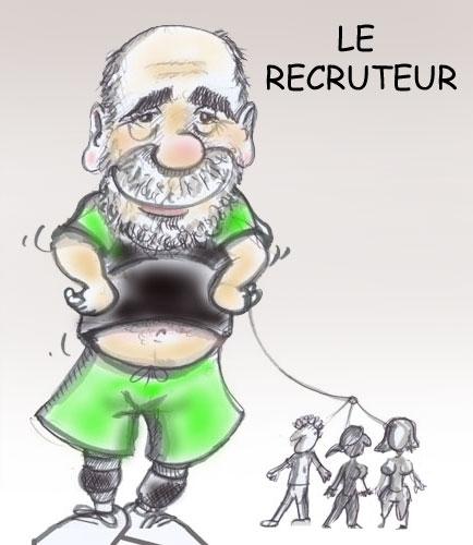 Patrick... Le MAITRE recruteur